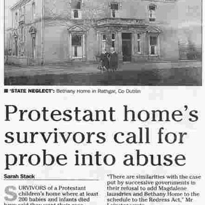 Protestants also accused of abuse