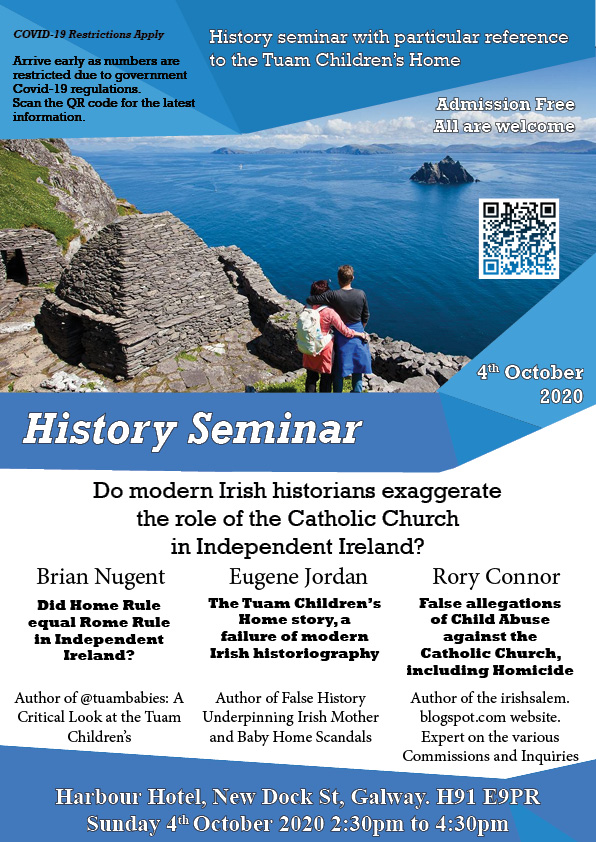 Tuam History Conference Poster 4th Oct 2020