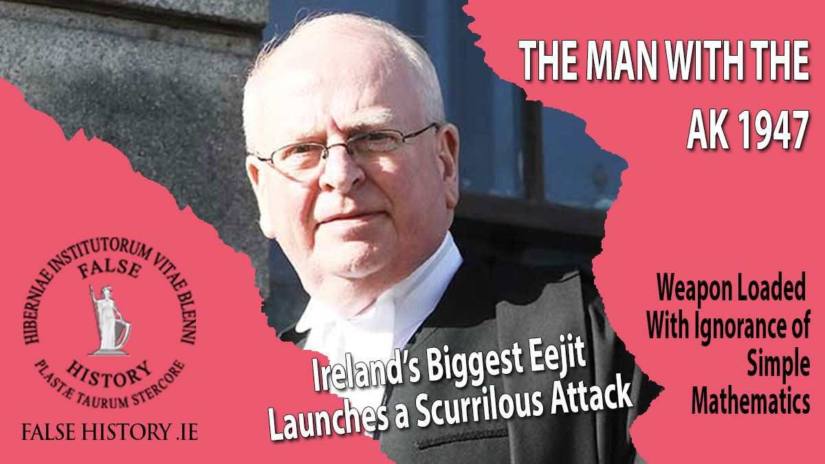 Michael McDowell - Ireland's Biggest Eejit launches a Scurrilous Attack