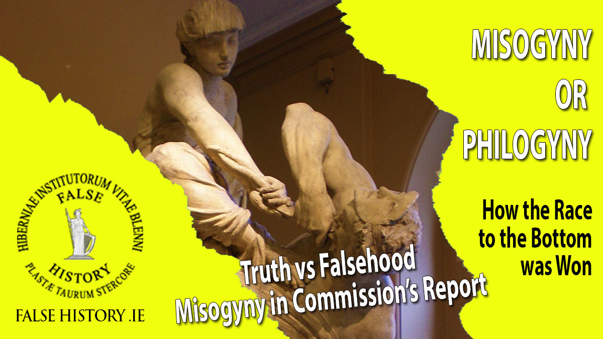 False charges of misogyny against the Irish nation