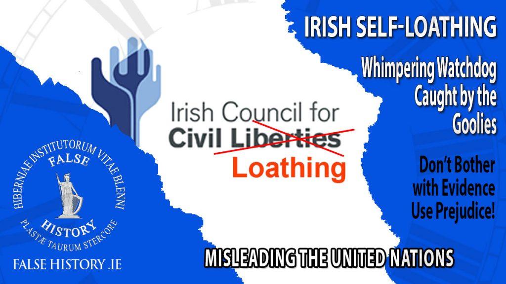 The self loathing Irish Council for Civil Liberties