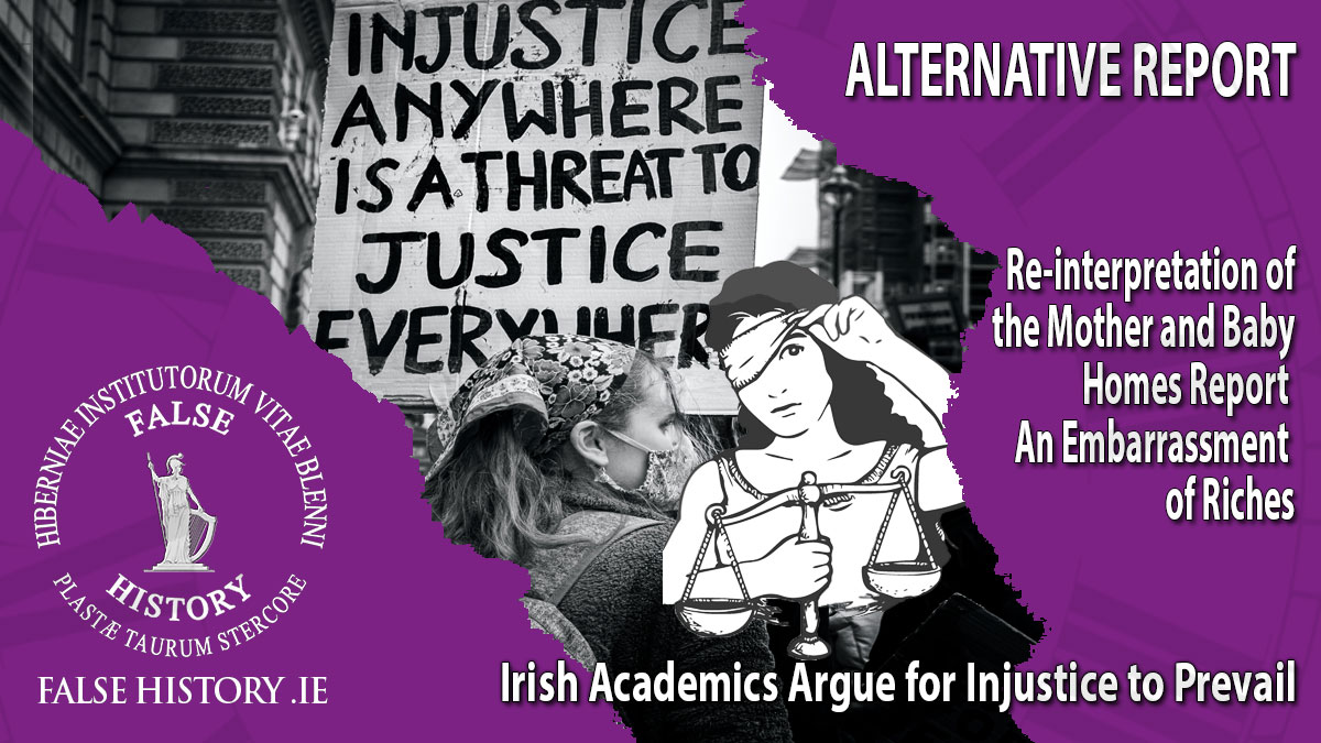 23 Irish academics argue that Injustice should prevail over justice