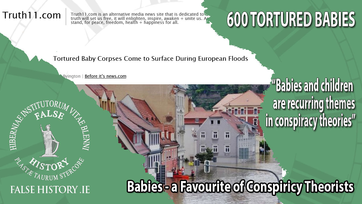 600 tortured babies in Germany - fake news