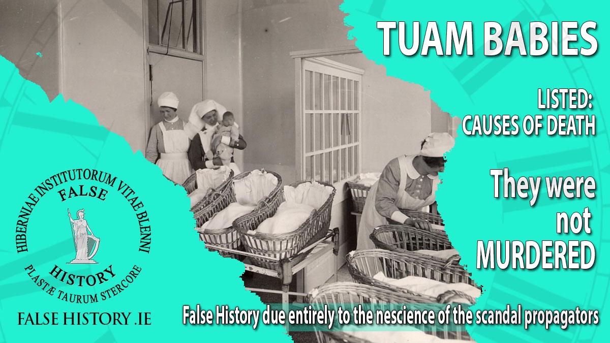 Tuam Babies were not murdered